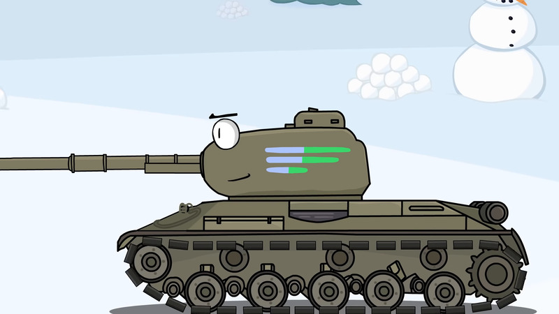 Tanks from parallel universes - Cartoons about tanks (mult-collab)