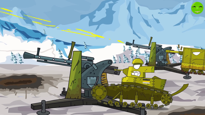 Monster Airstrike - Cartoons about tanks